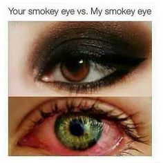 My smoky eyes