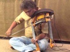 Radha's double neck violin | Electric Violin Shop