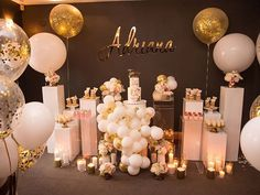 Adriana's 21th 🌹  I'M IN LOVE 😍😍 Beautiful styling @at_fernandos  Image @arianaphotographystudio  Cake @somethingbluecakes  Cake topper and Letter @lettersbyloulou  Balloons @floating.designs  Desserts cups & mini nakedcake @cake_cup_addiction  Strawberry @strawberryqueen.s  Candles @kancoun_creations  Props @prop.my.party  Styling/ Planner/ Floral Designer @blushingevents.co  #eventstyling #21thbirthday #pretty #gorgeous #sydneydesigner #makewithlove #vintagestyle #props #cake #candles…
