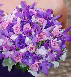 victorian wedding centerpieces | purple flowers for weddings