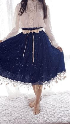 Wave Your Starry Night Underskirt (Version I)