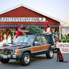 Christmas Tree Ideas| Cutting the Christmas Tree, Christmas Fashion, Christmas Decor DIY, Christmas tree farm, Maine Christmas, New England Christmas, Jeep Wagoneer, Wagoneer, Vintage Christmas, Holiday travel, Christmas town, Maine travel #preppychristmas #christmasdecoration #christmastree #treefarm #christmastreefarm #christmasfarm #jeepwagoneer #jeep #jeepchristmas #christmascar #vintagechristmas #mainechristmas #newenglandchristmas