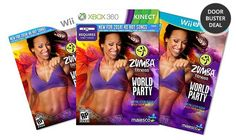 #Zumba Fitness World Party for Xbox 360 Kinect, Wii U, or Wii $27.99 SHIPPED! #DoorBuster