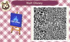 Walt Disney logo | QRCrossing.com