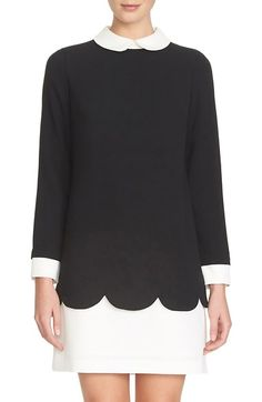 CeCe by Cynthia Steffe 'Jada' Collared Shift Dress (Regular & Petite) available at #Nordstrom