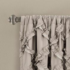 Shop for Lush Decor Ruffle Diamond Curtain Panel Pair. Get free delivery On EVERYTHING* Overstock - Your Online Home Decor Outlet Store! Rod Pocket Curtains, Drapes Curtains, Bedroom Curtains, Double Curtains, Living Room Decor Curtains, Trellis Pattern, Curtain Sets, Curtain Panels, Colorful Curtains