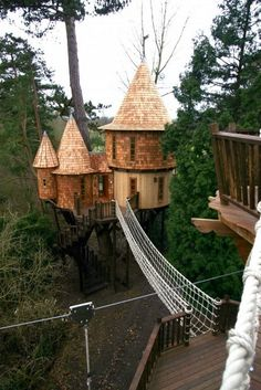 awesome, cool, design, win, architecture, I NEED ONE: A Castle Tree House for Adults