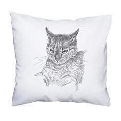 Poduszka z kotem. Doskonały prezent, np. dla mamy. Przytul się do kota ! :)