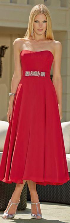 charming-sheathcolumn-strapless-sleeveless-ruffles-tealength-chiffon-bridesmaid-dresses