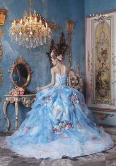 Modern fairytale / karen cox / Cinderella. Ball Gown by Stella de Libero