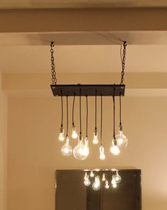DIY ?? Urban Hanging Chandelier
