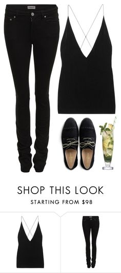 """Teenage Partying"" by mari-marishka ❤ liked on Polyvore featuring Dion Lee, Filippa K and Cole Haan"