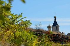 Old Orhei in Moldova. The Ascension of St. Mary Church was built in 1905. The church was closed during Communist times but re-opened in the mid-1990s.