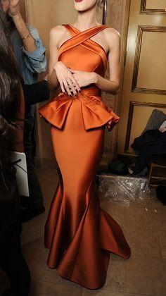 Beautiful burnt orange dress