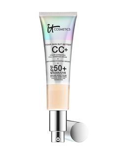 MAKEUP Department Stores, Specialty Stores, Spas, Salons It Cosmetics Your Skin But Better CC+ Cream, $38 (shop-links.co).