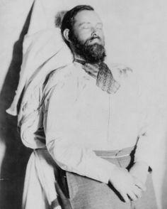 Jesse James death photo.