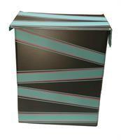 ReDesignet Postkasse Sort/Rosa/Grønn Decorative Boxes, Home Decor, Decoration Home, Room Decor, Home Interior Design, Decorative Storage Boxes, Home Decoration, Interior Design