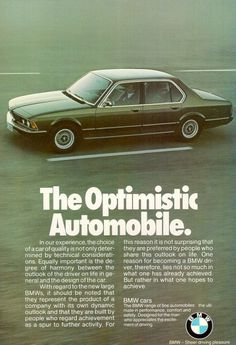 BMW 730i - adv