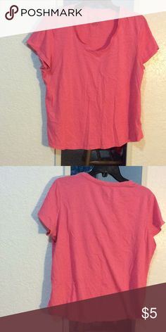 Top Pink pull over t-shirt Faded Glory Tops Tees - Short Sleeve