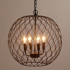 Cost Plus World Market is my go to for unique finds! These light fixtures are not only beautiful but have that farmhouse feel. They will definitely add a rusti