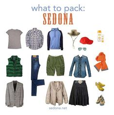 Sedona Weather | What to Pack for Your Sedona Vacation | - Sedona.net