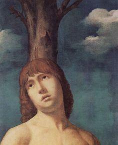 Antonello da Messina (1430-1479) - San Sebastiano, dettaglio - 1475-1476?, 1478? - Dresda, Gemäldegalerie