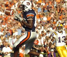 auburn football 2004 | Auburn's Courtney Taylor hauls in his first career touchdown with 1:14 ...