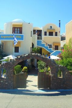 Argonaftes || Located in the scenic town of Fira, the adult-only Argonaftes Villa offers traditional Cycladic-style units, some facing east with a sea-view balcony.