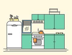 Nataly Sheveleva: My 20 days Line Illustration Challenge on Behance