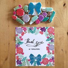 For the flower lover #hanko #rubberstamp #eraserstamp #stampart #handprinted #handcravedstamp #handicraft #hanco #handmade #bymamalaterre