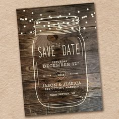 106 best rustic wedding save the dates images on pinterest in 2018