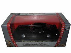 1969 Pontiac Firebird Trans Am Diecast Car Model 1/43 Black Die Cast Car By Yat Ming