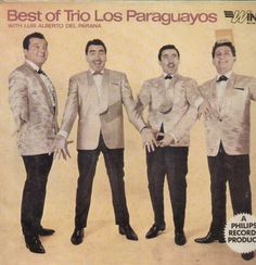 Beat Of Trio Paraguayos With Luis Alberto Del Parana English Vinyl LP