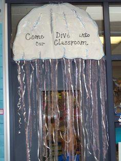 Ocean - Jellyfish door perhaps?