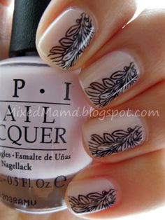 OPI Care To Dance and plate BM11