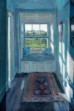 Tullynally Upper Floor Window | Delahunty Fine Art | Contemporary Art London