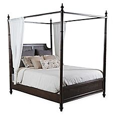 image of Powell Passages Bed with Canopy in Walnut