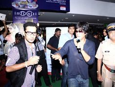 Hosted an event with Shahrukh Khan