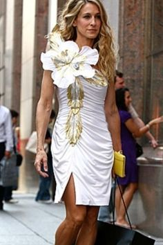 Carrie Bradshaw Chic ~ Sex and the City Style