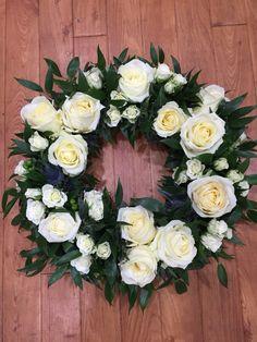 #pallotsflorist #pallotflowers #sthelier #jersey #jerseyci #cheapside #floristjerseyci #funeraltributes #flowers Funeral Floral Arrangements, Flower Arrangements, Funeral Tributes, Sympathy Flowers, Valentines Flowers, Flower Wall Decor, Funeral Flowers, Summer Wreath, Floral Wreath