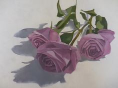 roses ,oil painting