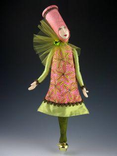 Wymzee Art Friends Showcase: Art Dolls by Cindee Moyer Bjd, Diy Inspiration, Art Friend, Polymer Clay Dolls, Fairytale Art, Wire Crafts, Fairy Dolls, Stuffed Animal Patterns, Soft Dolls