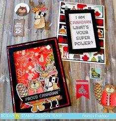 Blog - Scrap-n-Stamp-Canada-day-blog-hop Canada Christmas, Canada Day, Card Making Inspiration, Stamp Sets, Treat Bags, Mini Albums, Card Ideas, Christmas Cards, Blog
