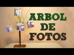 ▶ Manualidades: Árbol de fotos para tu habitación o para regalar | Manualidades para tu cuarto - YouTube