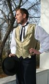 Men's wedding attire/ Victorian by Recollections.