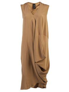 Zero + Maria Cornejo Sleeveless Drape Dress - - Farfetch.com