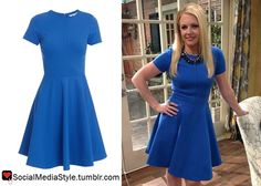 Buy Melissa Joan Hart's Melissa and Joey Blue Dress, here!