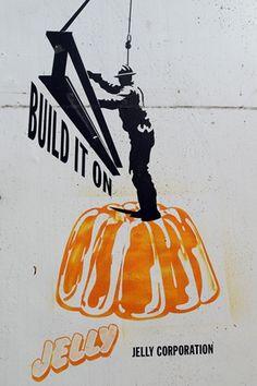 Post-quake street art