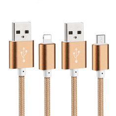 Usb 데이터 케이블 나일론 꼰 와이어 금속 플러그 micro usb cable 대한 iphone 6 충전기 6 초 플러스 5 초 5 ipad mini samsung sony htc
