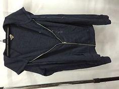 Hollister California Black Hoodie Sweater Zipper Top, Size M